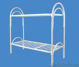 Металлические кровати для общежитий, кровати металлические для интернатов - Изображение #1, Объявление #1478864