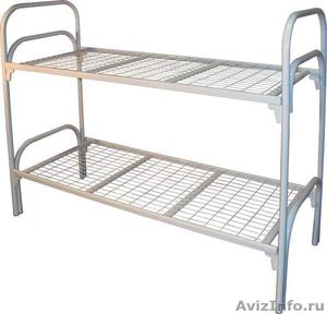 Железные армейские кровати, одноярусные металлические кровати для больниц, оптом - Изображение #1, Объявление #1480252