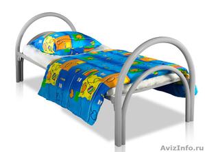 Железные армейские кровати, одноярусные металлические кровати для больниц, оптом - Изображение #3, Объявление #1480252