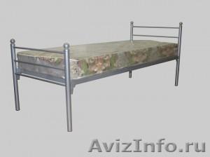 Металлические кровати для общежитий, кровати металлические для интернатов - Изображение #4, Объявление #1478864