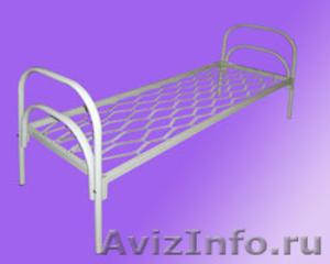 Железные армейские кровати, одноярусные металлические кровати для больниц, оптом - Изображение #2, Объявление #1480252