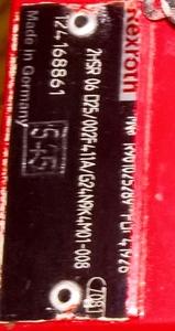 Распределитель 2HSR 06 025/002F411A/G24N9K4M01-008 R901025289 Rexroth Рексрот Но - Изображение #8, Объявление #1700145