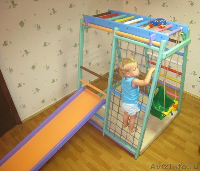 Как сделать игровой комплекс своими руками для ребенка
