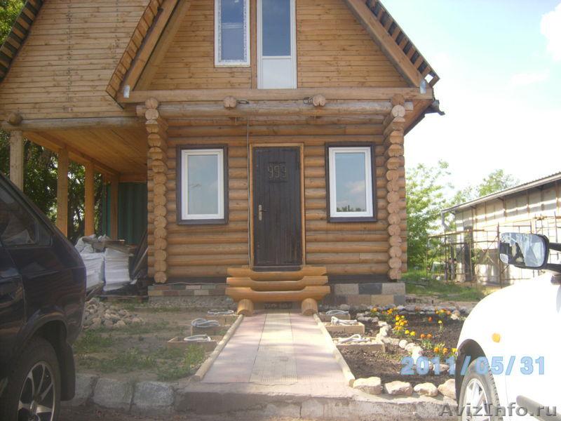 входные двери в дом из бревна
