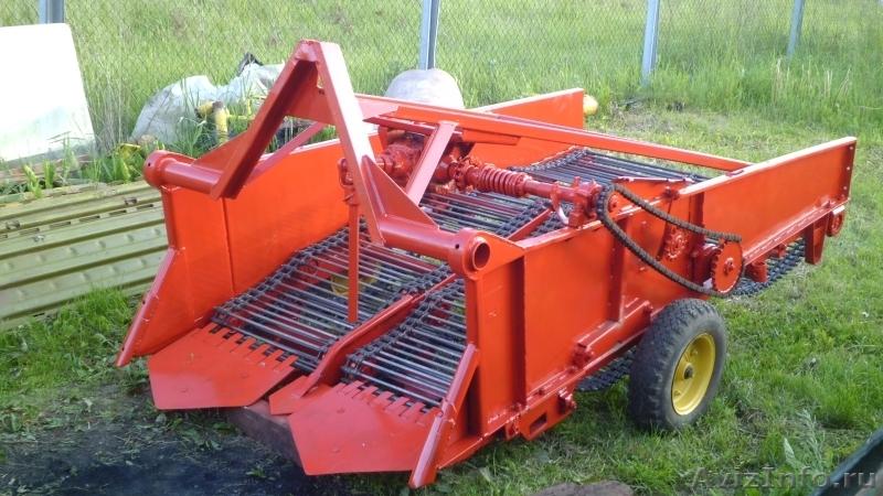 Картофелекопалка для трактора мтз