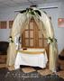 Свадебный букет, оформление торжеств цветами и тканью
