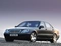 Mercedes W 220 long S500. Прокат VIP авто с водителем в Минске.