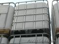 Бочки пластиковые 127 /167 / 227 литров б у,  контейнера 1000 литров б/у (кубы)