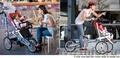 уникальный велосипед-детская коляска