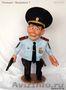 Интерьерная коллекционная кукла полицейский