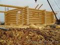 Строим срубы домов и бань из круглого леса методом ручной рубки.