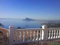 Элитная вилла в Испании с видом на море в Алтея Хиллз