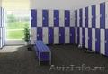 Шкафчики для спортивных и производственных раздевалок,  локеры секционная мебель.