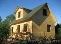 Дом из  бруса 6х6 м (брус профилированный)