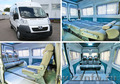 Микроавтобус Peugeot L2H2 8+1 мест. Салон-трансформер.