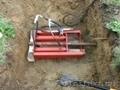 Вода,  газ,  кабель  методом прокола грунта. Мини установка управляемого прокола .