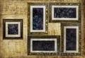 коллажи-картины в различной стилистике