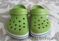 б/у Crocs зеленые