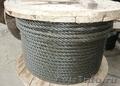 Трос стальной для подъема одинарной свивки типа тк конструкции