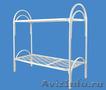 Металлические кровати для общежитий,  кровати металлические для интернатов