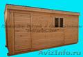 Деревянная бытовка 6.0 вагонка