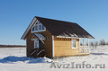 Новый деревянный домик с электричеством,  в экологически чистом месте,  у озера