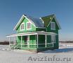 Новый дом с просторной верандой,  рядом с потрясающим озером Плещеево