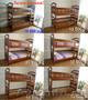 Двухъярусная кровать Дарина из дерева,  разборная