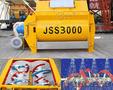 Бетонный миксер JSS «Changli» спиральный 2-х вальный