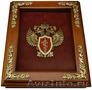 Деревянная ключница с эмблемой пограничной службы России Деревянная ключница Эмблема Пограничной службы России
