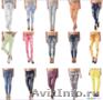 Молодёжные джинсы/брюки  сток оптом  итальянских популярных брендов., Объявление #1580274