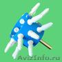 Насадка на дрель перосъёмная Уралочка для ощипа птицы и бильные пальцы