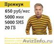 Безлимитный тариф Билайн без роуминга по всей России
