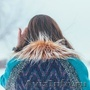Женское бирюзовое зимнее пальто с мехом (шуба) - Изображение #3, Объявление #1594015