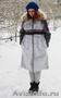 Женское темно-фиолетовое зимнее пальто с мехом (шуба) - Изображение #4, Объявление #1594021