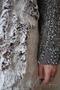 Женское темно-фиолетовое зимнее пальто с мехом (шуба) - Изображение #5, Объявление #1594021