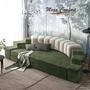 Круглая интерьерная кровать «Донжон»